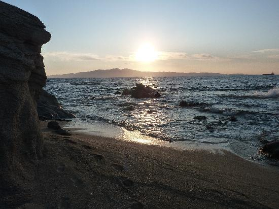 Faros Villa: evening walks....Aliko beach coves
