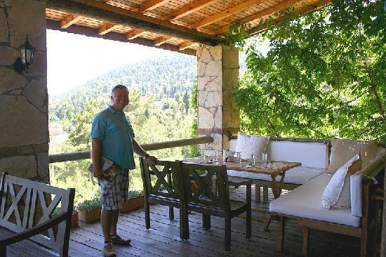 Olympos Mountain Lodge : olympos mountian lodge owner