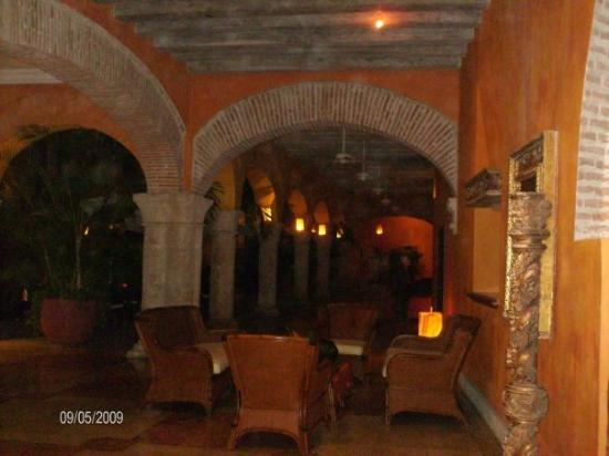 Charleston Cartagena Hotel Santa Teresa : parte  del lobby...