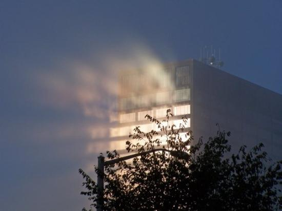 เดย์ตัน, โอไฮโอ: Foggy morning