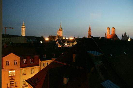 Mandarin Oriental, Munich : Aussicht vom Zimmerfenster