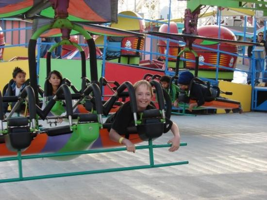 Santa Cruz Beach Boardwalk: This ride is not fluffy friendly!