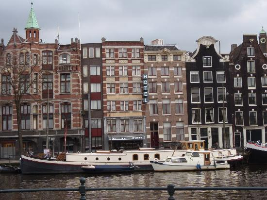 The hotel as seen from the river picture of hampshire for Eden hotel amsterdam