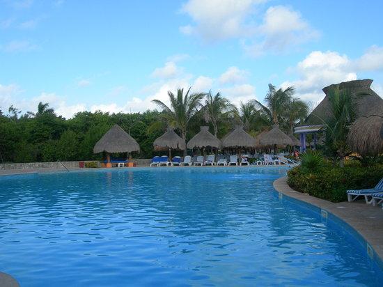 Playa Paraiso, Meksiko: Pool