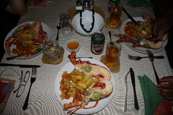 Akwadup Lodge: Good food!
