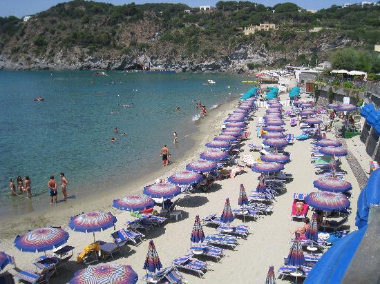 Hotel Tritone Wellness Center: spiaggia