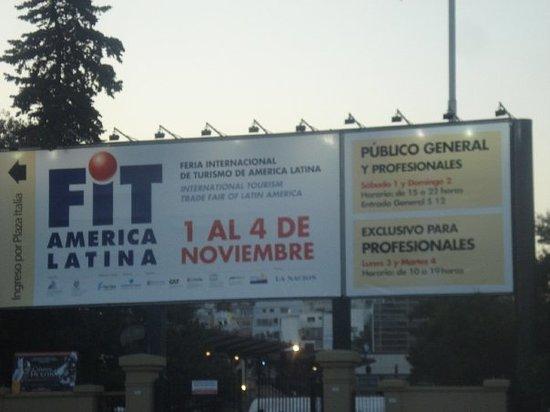 Feria Internacional de Turismo FIT - Noviembre 08 - Predio La Rural