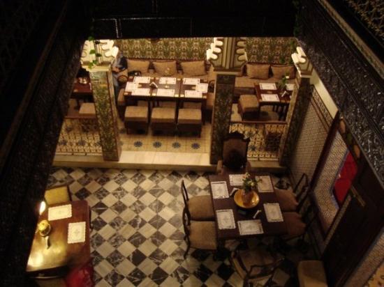 Tetouan, โมร็อกโก: Salón-comedor del hotel...era muy agradable.