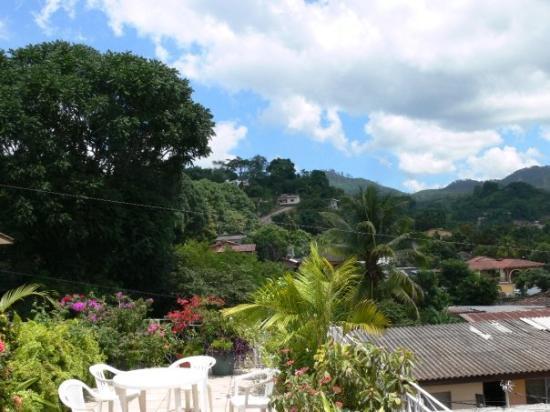 Copan, Honduras: Coban, from our hotel