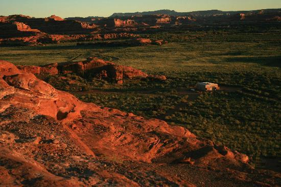 plan your trip places stay camping canyonlands