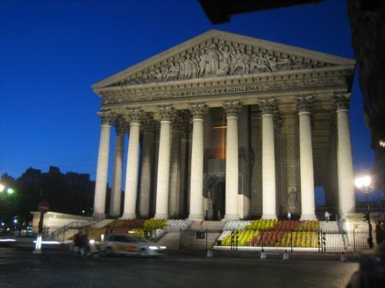 La Madeleine: Parigi, Madeleine