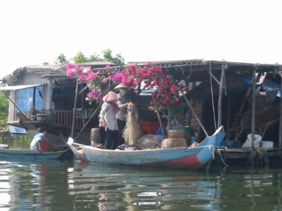 Siem Reap, Cambodia: From a floating fishing village on Tonle Sap in Cambodia
