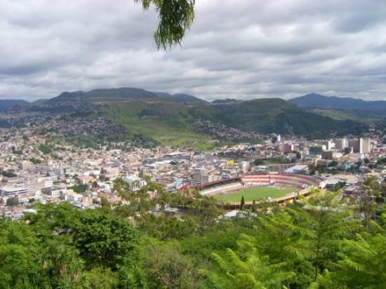 The Dolores Church In Tegucigalpa Honduras A Convenient