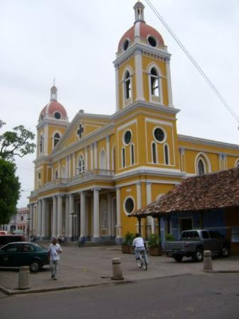 The Cathedral of Granada in Nicaragua