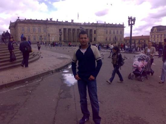 Plaza de Bolivar: EN LA PLAZA BOLIVAR BOGOTA
