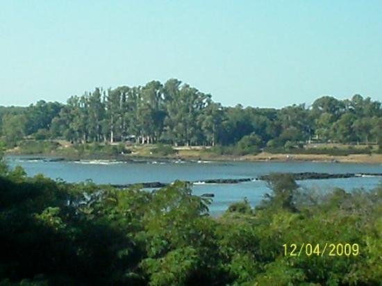 Vista desde las Ruinas San Carlos. Concordia