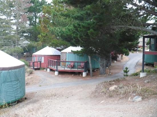 Treebones Resort: yurt village