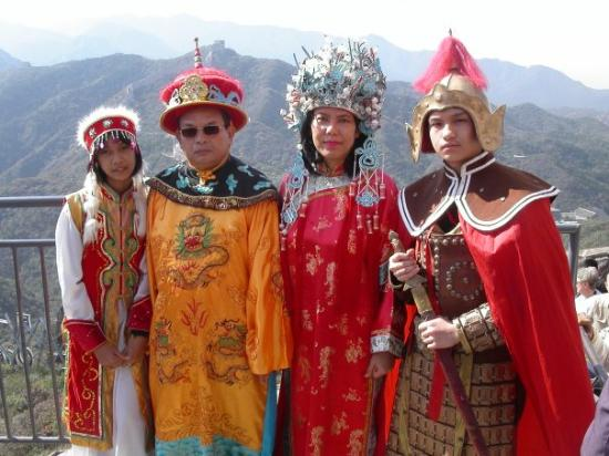 Beijing, China: sumpah ni foto kocakkk abis!!!! apa lagi bokap gw,.orang foto ceritanya jaman dulu, ekh dia mala