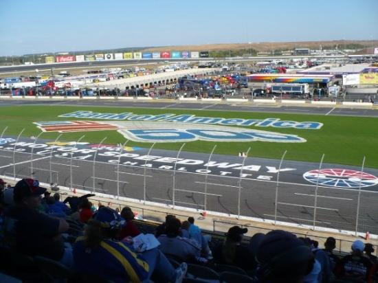 Turn 1 From Infield Picture Of Charlotte Motor Speedway