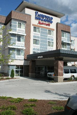 Fairfield Inn & Suites Omaha Downtown: outside