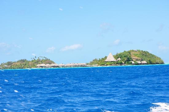 โซฟิเทลโบราโบรา มารามาราบีช รีสอร์ท: Motu Nunue & Sofitel Bora-Bora Motu