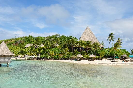 โซฟิเทลโบราโบรา มารามาราบีช รีสอร์ท: The motu beach