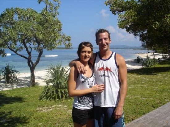 Eratap Beach Resort: me and the boss
