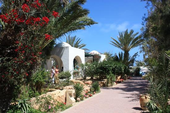 All e de jardin picture of winzrik resort thalasso djerba midoun tripadvisor for Allee de jardin carrelee
