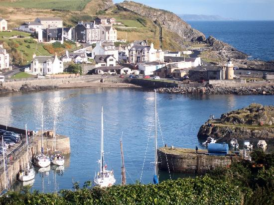 Portpatrick, UK: View from our window