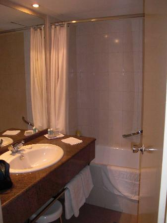 Hotel Tiama : good size washbasin area