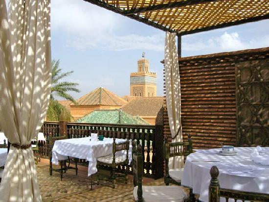 La Sultana Marrakech: View from terrace