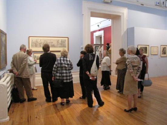 Harris Museum and Art Gallery: Enjoying looking at the fine art on display in the Harris Museum & Art Gallery