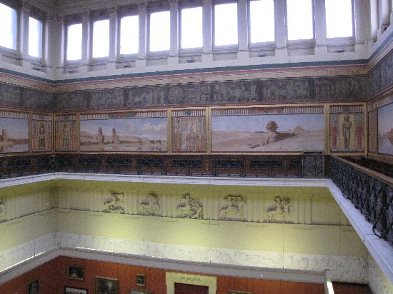 Harris Museum and Art Gallery: he Egyptian Balcony can be viewed on special tours only