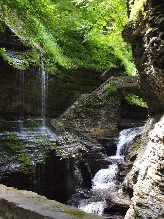 Watkins Glen State Park: Waterfall