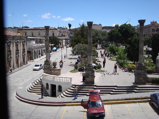 B&B Villa de Don Andres (Hotel): Parque Central  Quetzaltenango