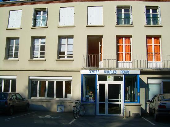 Centre Charles Peguy : La facade, ancien site industriel