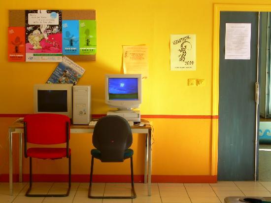 Centre Charles Peguy: Le point Internet