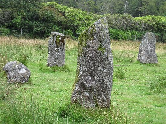 Pineapple House B&B: Standing stones, Isle of Mull