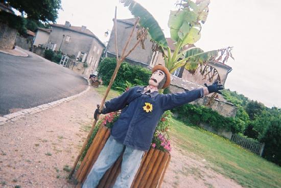 La Ferme du Lac : Scarecrows!
