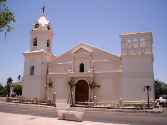 Penonome, Παναμάς: die Kirche in Aguadulce, the church in Aguadulce, la iglesia en Aguadulce