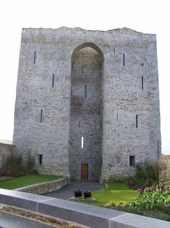 The remains of Listowel Castle