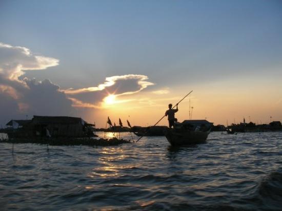 Tonle Sap Lake, Siem Reap, Cambodia