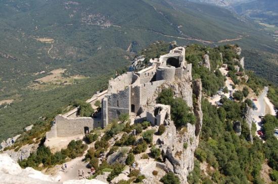Duilhac-sous-Peyrepertuse, França: Castell de Pedrapertusa