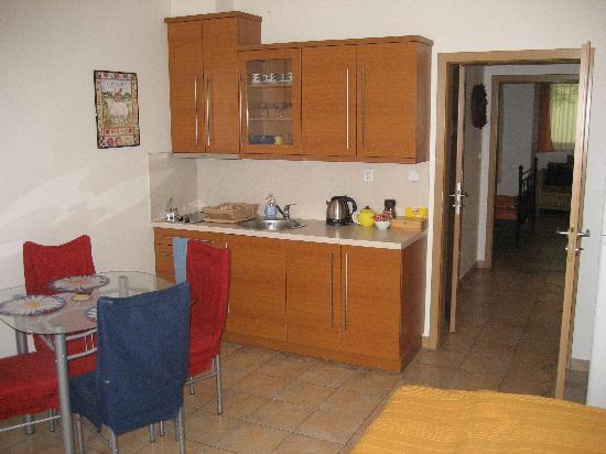 Aparthotel City 5: Kitchen area