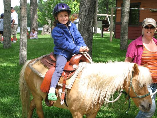 Good Ol' Days Family Resort: Pony rides