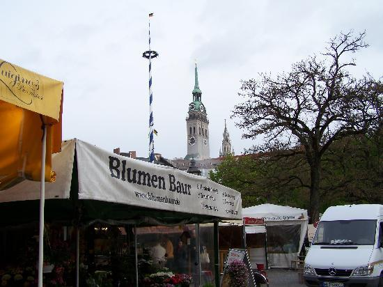 viktualienmarkt picture of hotel am viktualienmarkt munich tripadvisor. Black Bedroom Furniture Sets. Home Design Ideas
