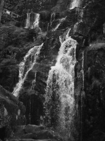 Gerardmer, ฝรั่งเศส: Grande cascade de Tendon