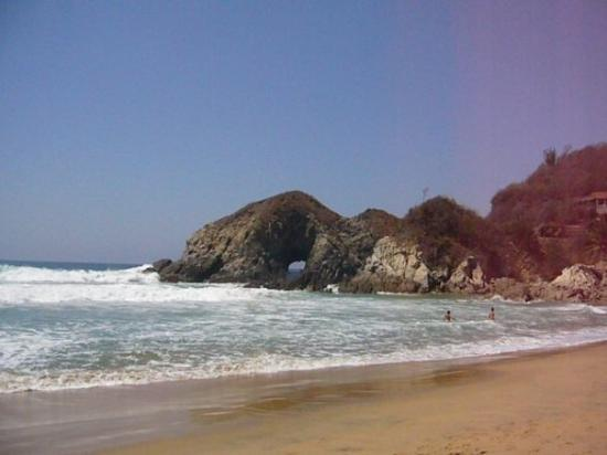 Puerto Angel, Messico: Playa de Zipolite, Mexico