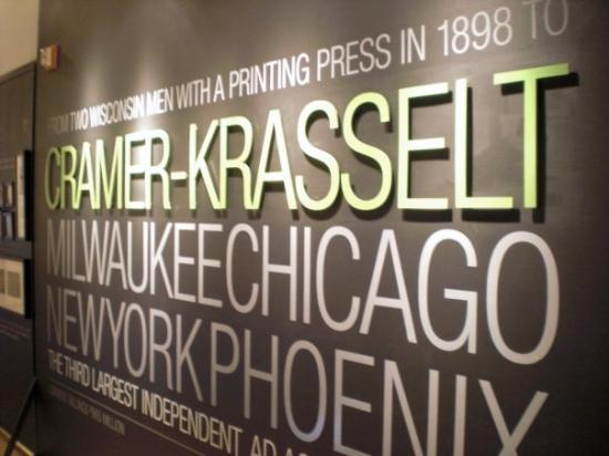 The Eisner American Museum of Advertising & Design: And this is from the Cramer Krasselt exhibit.