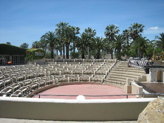 Camping & Resort Sanguli Salou : This is where the evening entertainment is held